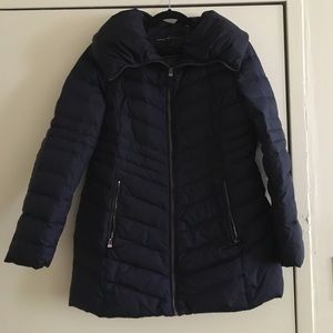 Andrew Marc navy down Puffer jacket